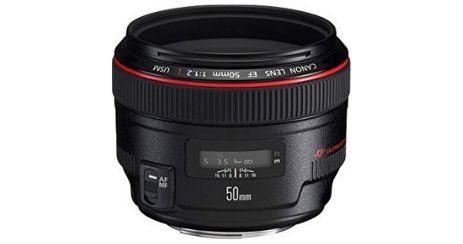 Canon EF 50mm f1 2 USM Objectif le plus lumineux du comparatif 2019
