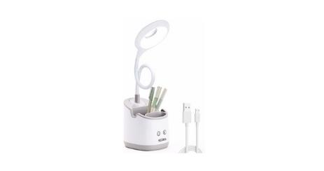 Decorus Lampe de Bureau LED avec Veilleuse multifonctions