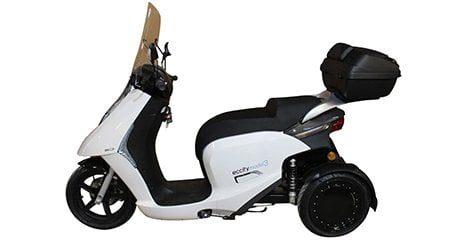 scooter electrique 3 roues ECCITY MODEL 3