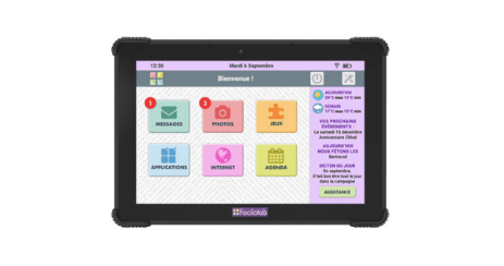 Facilotab L Onyx meilleures possibilites tablette senior