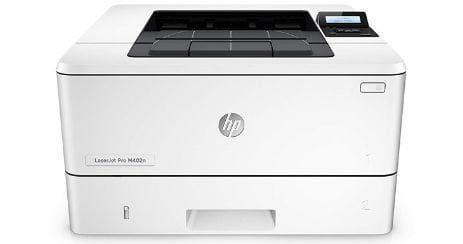 HP LaserJet Pro M402n Meilleure imprimante laser WiFi noir et blanc