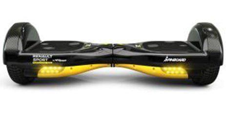 Hoverboard rapide Renault Sport Spinboard Renault F1 Team noir jaune
