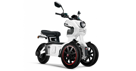 Doohan i-tank 45 scooter electrique securise 3 roues