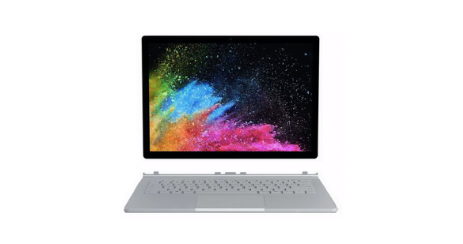 Microsoft Surface Book 2 tablette tactile performances graphiques exceptionnelles