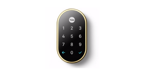 Nest X Yale Lock Google
