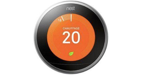 Nest thermostat 2019 gadget high tech adulte