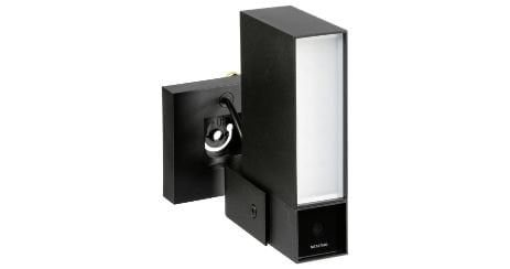Netatmo Presence Camera Connectee lampe