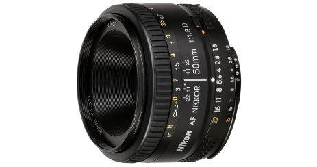 Nikon AF 50mm F1 8 meilleur objectif Nikkor pas cher