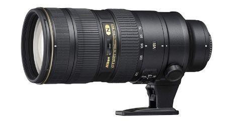 Nikon Nikkor 70 200mm f2 8 G ED AFS Meilleur objectif zoom polyvalent