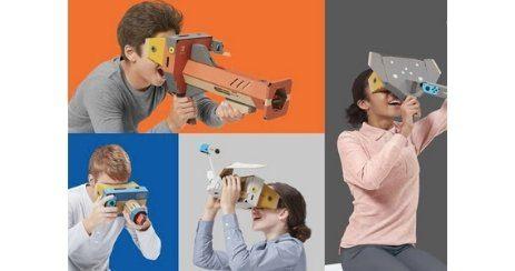 Mario VR casque kit nintendo 2019