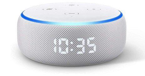 Nouveau Echo Dot 3 Enceinte connectee reveil horloge reveil alexa