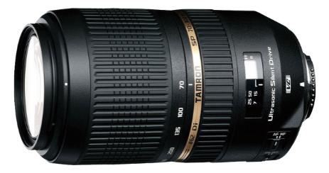 OBJECTIF TAMRON Zoom - SP 70-300 mm F_4-5,6 Di VC USD