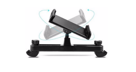 POOPHUNS Support Tablette Voiture angle reglable