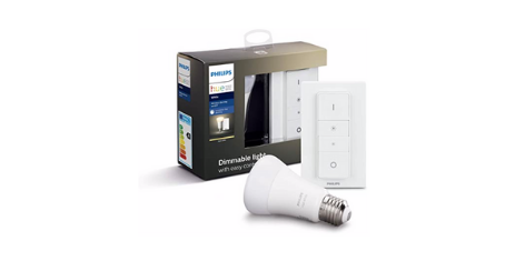 Philips Hue Ampoule LED Connectée White Dimming Kit E27 ampoule Philips dimmable