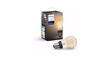 Philips Hue Ampoule LED Connectee White Filament E27 Forme Standard ampoule à filament populaire