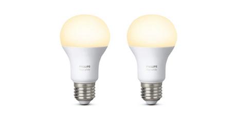hilips Hue Ampoules Connectees Blanc E27 ampoules LEDs simples
