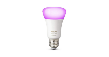 Philips Hue White & Color Ambiance E27 et Philips Hue White Ambiance GU10 ampoule connectee couleurs