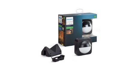 Philips Lighting Hue Detecteur de mouvement Exterieur Noir detecteur intelligent