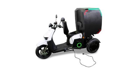 scooter electrique livraison Silence S 03