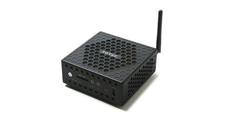 Zotac ZBOX NANO CI327 Mini PC familial pas cher