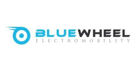 bluewheel logo hoverboard
