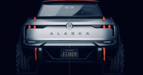 camionnette electrique FISKER ALASKA