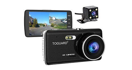 dashcam voiture camera arriere toguard