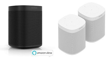 enceinte intelligente sonos one compatible apple siri