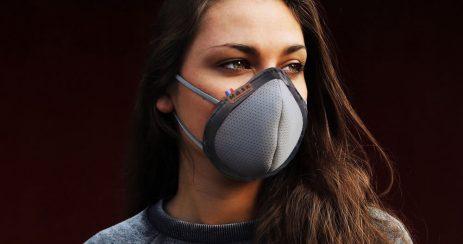 Masque réutilisable français