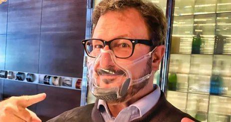 Masque réutilisable transparent Leaf Mask