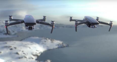 meilleure innovation drone ski mavic PRO