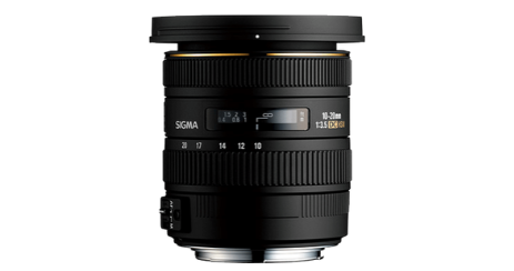 objectif photo Sigma 10-20mm F_3.5 EX DC HSM