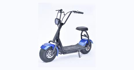 Trottinette Électrique scooter électrique Boogy bleue