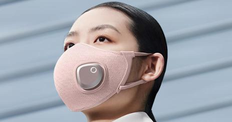 Philip fresh air mask porté