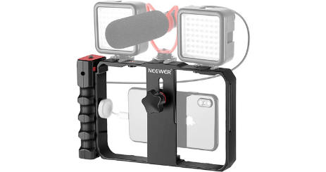 Vidéo ring support smartphone