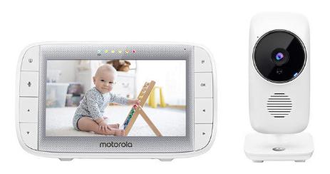 Babyphone video Motorola MBP 485